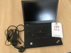 Lenovo ThinkPad T470 laptop computer