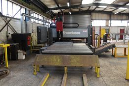 Voortman V320-2000 CNC pass through plate processing machine