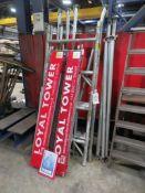 Aluminium scaffold tower parts