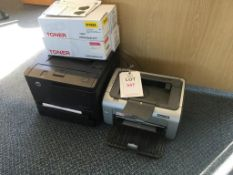 HP LaserJet Pro 400 printer and a HP P1006 laser jet printer