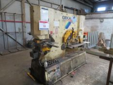 Geka 165/E-500 metal worker, Year: 1995