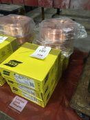 Seven reels of ESAB Autrod 12.51 welding wire Un used