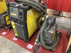 Esab Origo Mig 510w mig/mag welder
