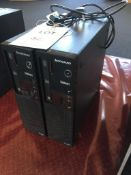 Two Lenovo ThinkCentre E73 computers (Windows Pro 8 and Intel i3 processor) Please Note: All HDD and
