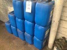 Twelve 20 litre drums of Hydraulic oil