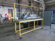 Mobile elevated work platform