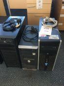 A HP Compact Elite 8200 computer (Windows 7, Intel i5 processor) a Novatec computer (Windows XP) and