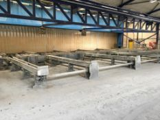 Stock transfer conveyor system
