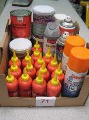 Various work shop grease / cutting fluids