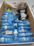 Various Festo and SMC cylinders and fittings