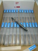 25 x Presto 11.5mm Taper shank drills, unused