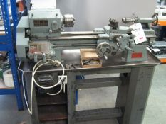 "Boxford model A screw cutting lathe, 240v, 4 1/2"" x 18""centres Loaded FOC to suitable transport"