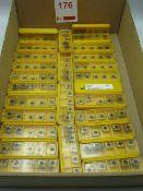 Box carbide tips, unused