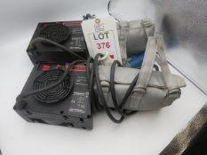 2 x Leister Hot air guns, 230v