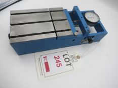 Indicator fixture with dial