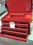 "Toolbox 6 drawers, approx. size: 26""x 14""x 15"" High"