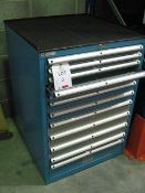 "Lista 12 Drawer cabinet, approx. size: 28""x 28"" x 40"" High Loaded FOC to suitable transport"