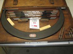"Starrett combination micrometer, 18"" to 24"""
