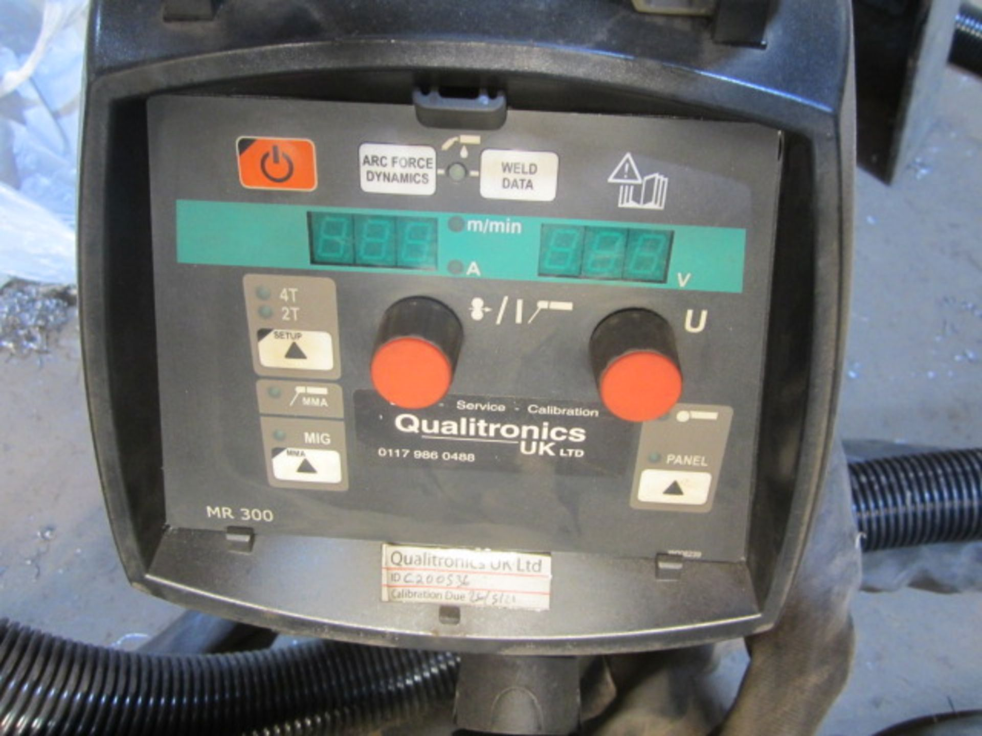 Kemppi Fast Mig M420 mig welder, serial no. 2673739, with Fast Mig MXF65 wire feeder, serial no. - Image 3 of 8