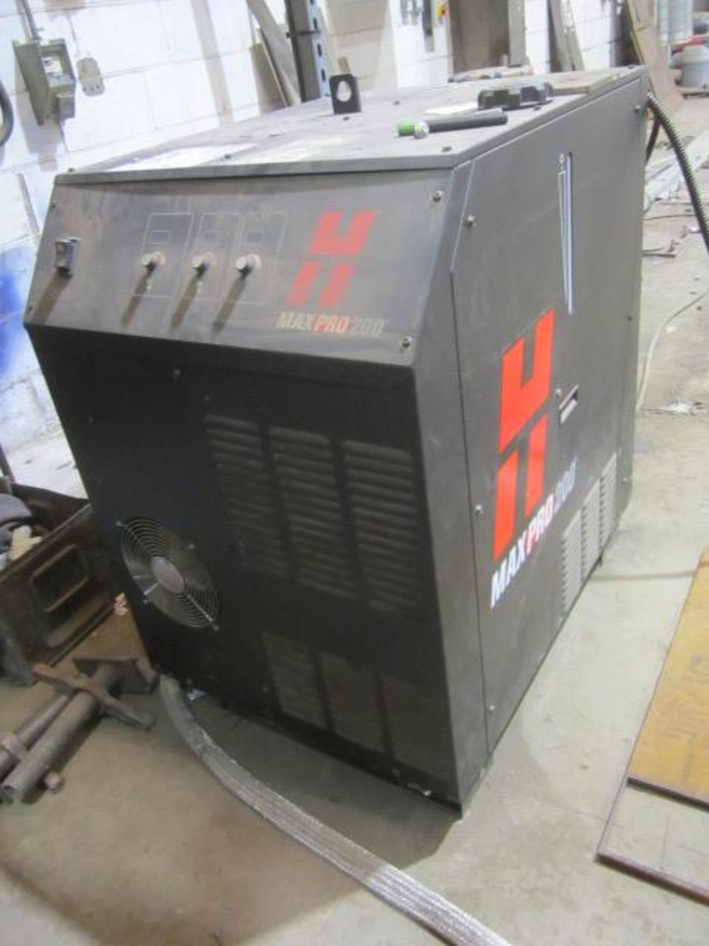 Hypertherm Max Pro plasma power source (power source only), serial no. MP200005889. A work Method...