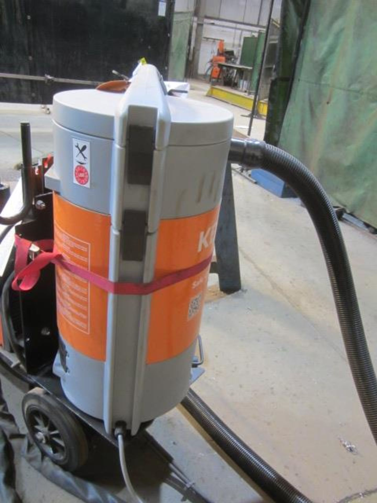 Kemppi Fast Mig M420 mig welder, serial no. 2673739, with Fast Mig MXF65 wire feeder, serial no. - Image 7 of 8