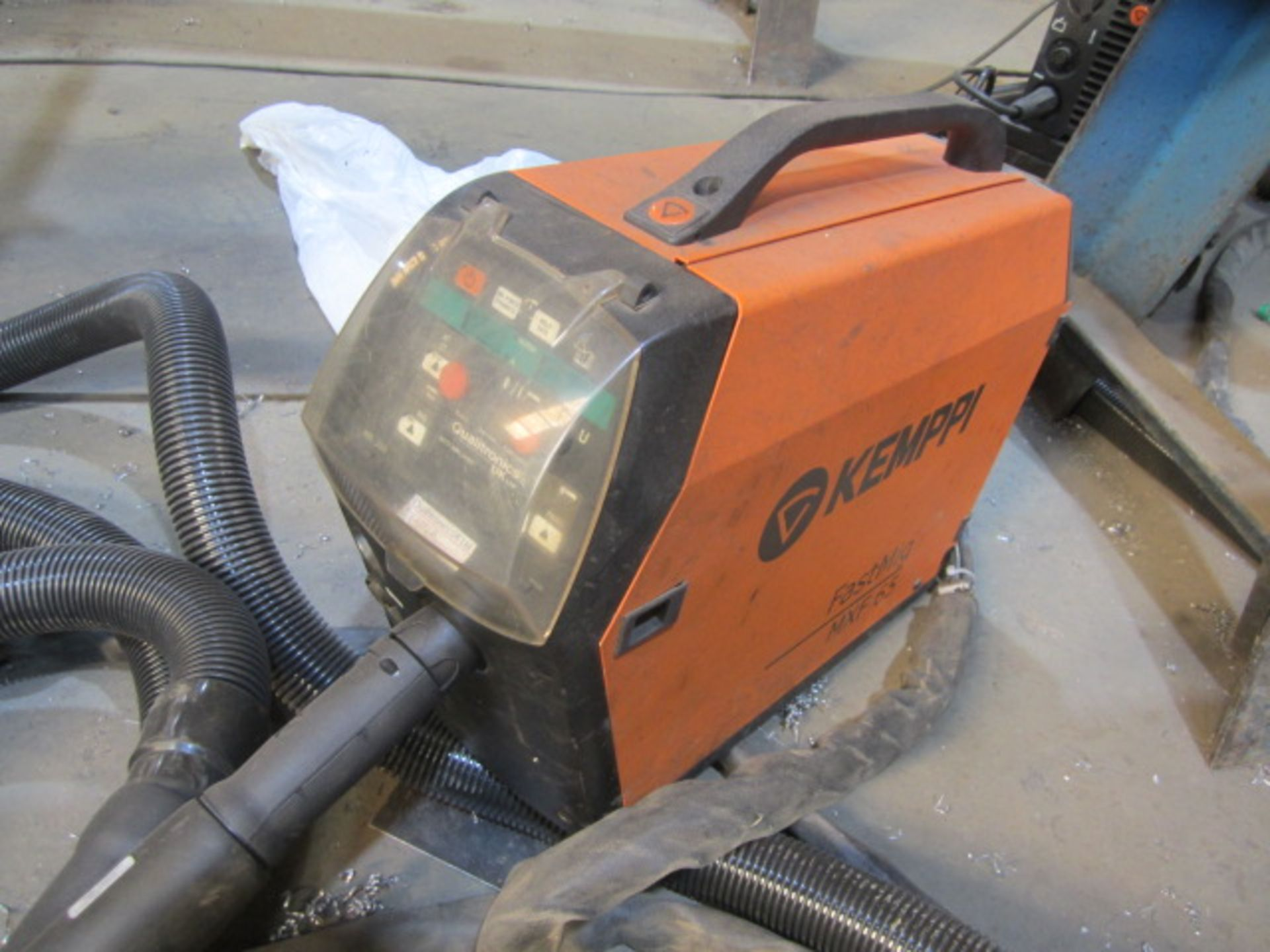 Kemppi Fast Mig M420 mig welder, serial no. 2673739, with Fast Mig MXF65 wire feeder, serial no. - Image 2 of 8