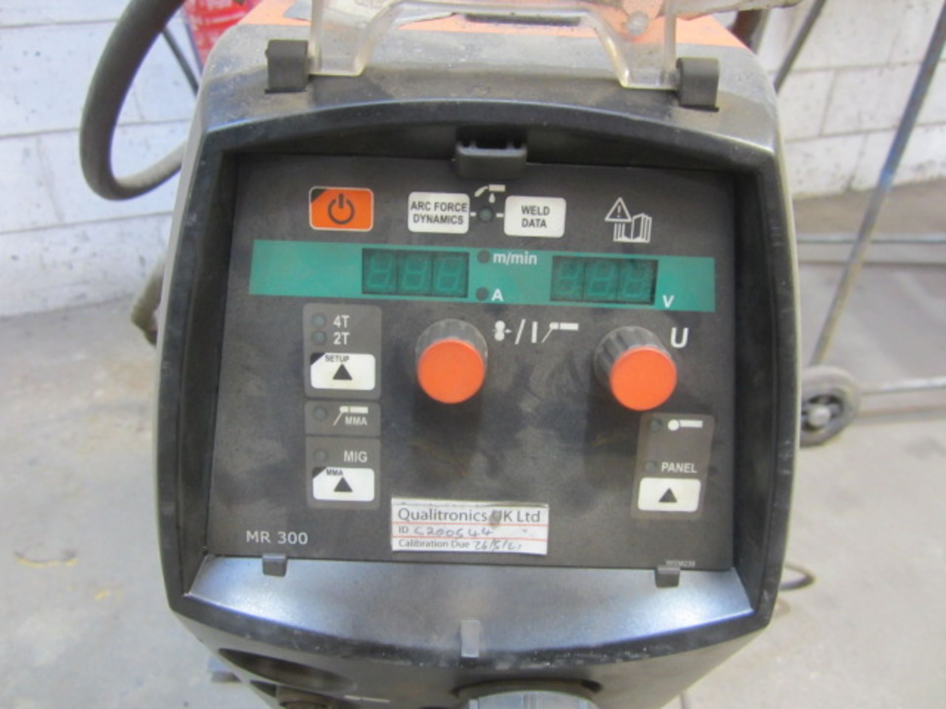 Kemppi Fast Mig M420 mig welder, serial no. 2694679, with Fast Mig MXF65 wire feeder, serial no. - Image 3 of 7