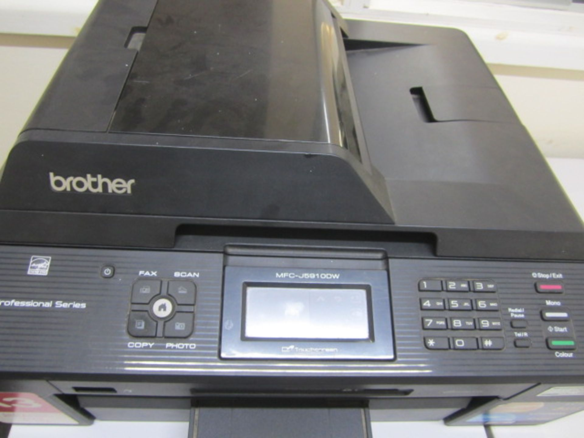 Brother MFC-J5910 DW fax, scan, copy and copier - Image 2 of 2
