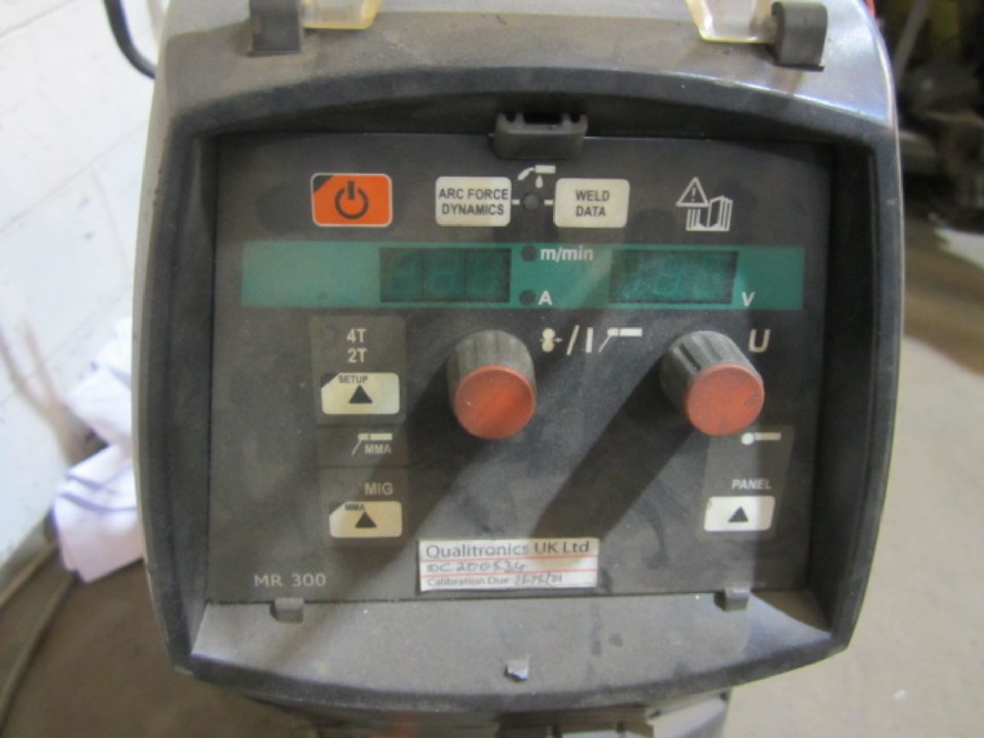 Kemppi Fast Mig M420 mig welder, serial no. 2694678, with Fast Mig MXF65 wire feeder, serial no. - Image 3 of 7