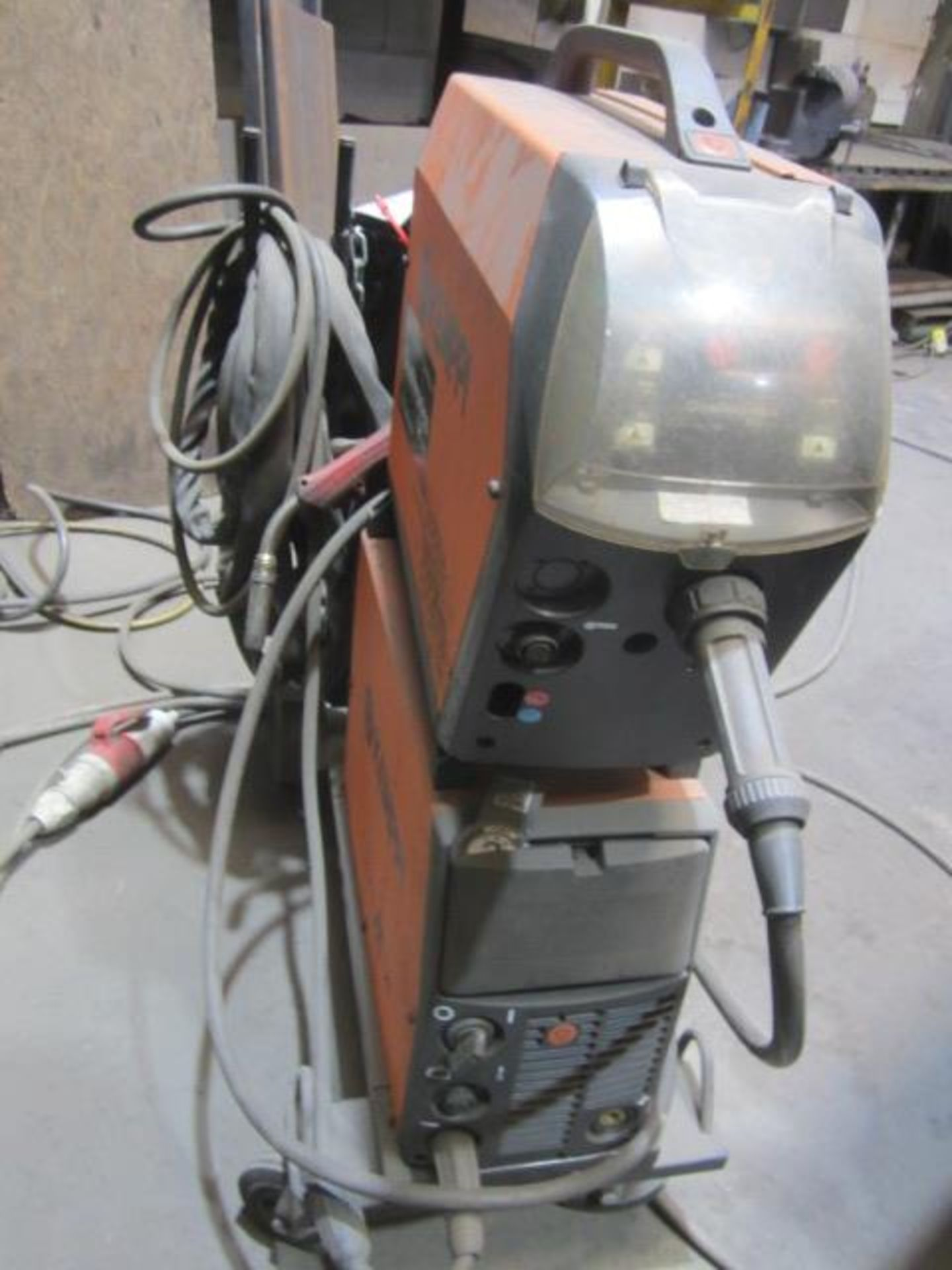 Kemppi Fast Mig M420 mig welder, serial no. 2674175, with Fast Mig MXF65 wire feeder, serial no. - Image 2 of 7