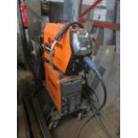 Kemppi Fast Mig M420 mig welder, serial no. 2694681, with Fast Mig MXF65 wire feeder, serial no.