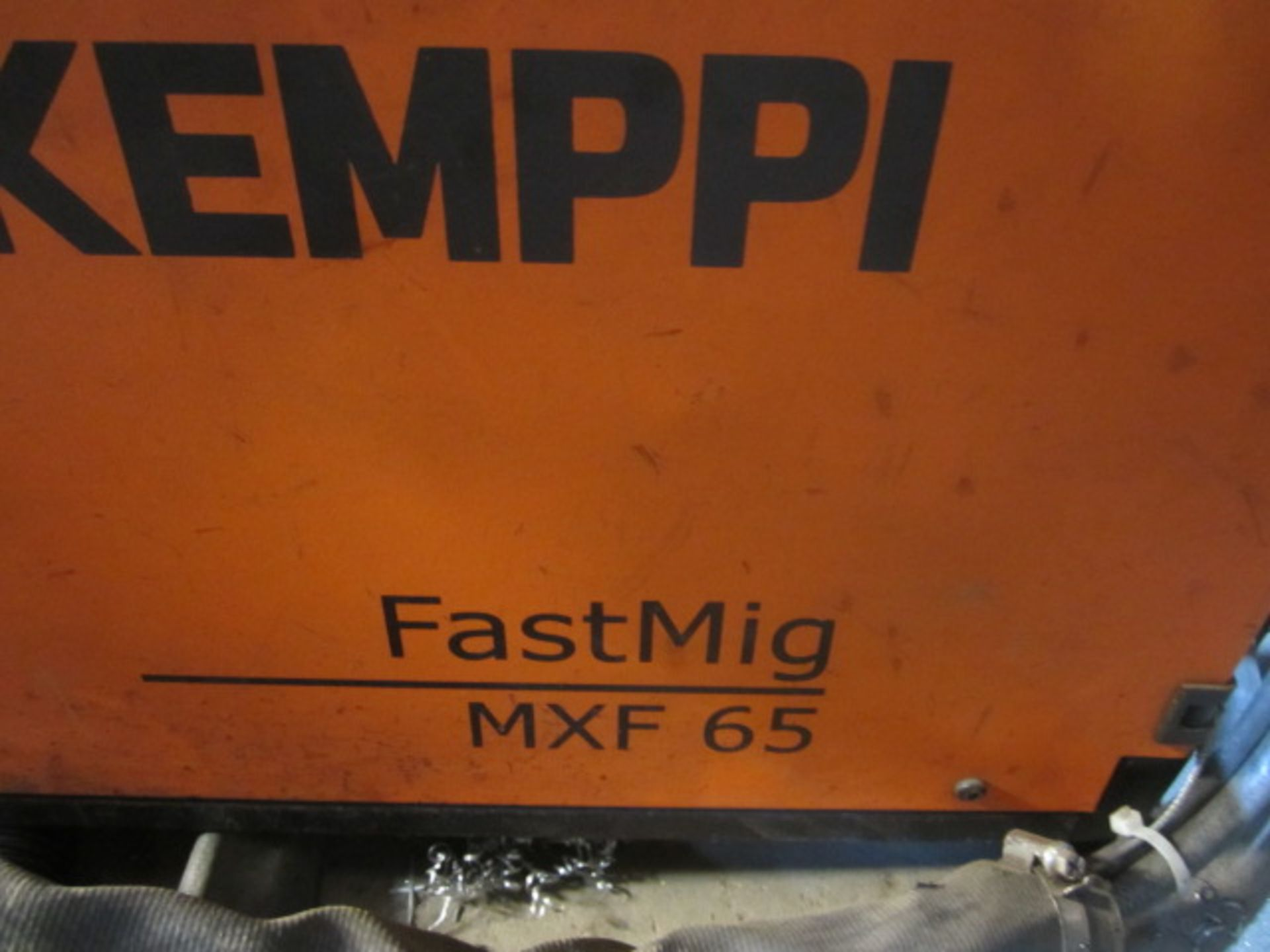 Kemppi Fast Mig M420 mig welder, serial no. 2673739, with Fast Mig MXF65 wire feeder, serial no. - Image 4 of 8