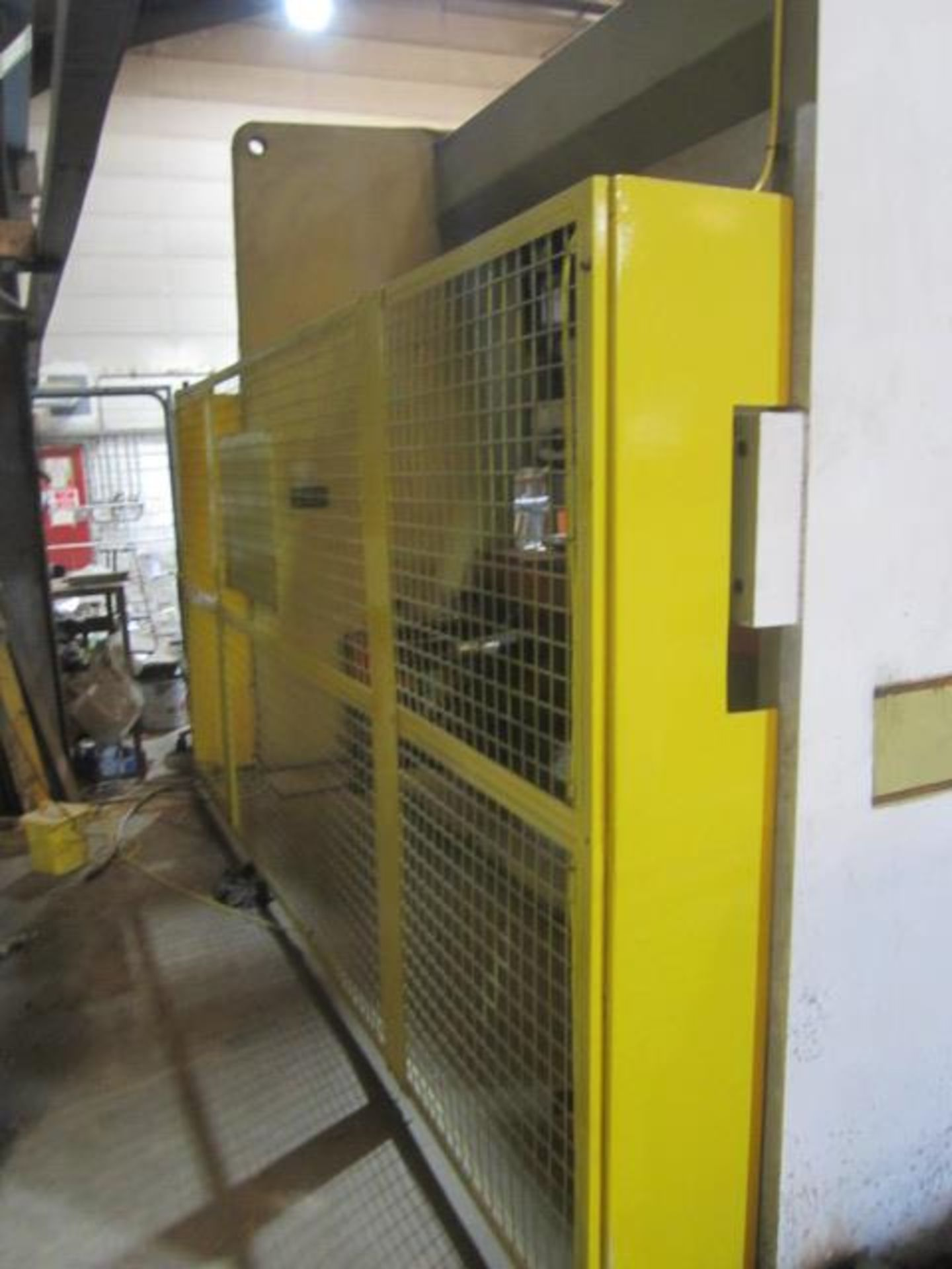 Edward Pearson 300 ton x 4100mm hydraulic downstroking press brake, model RT 300 x 4100, serial - Image 7 of 10