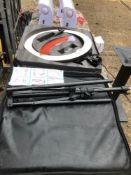 """Neewer Ring Light model RL-18"""" tube lamp c/w Tripod & carry case"""
