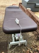 Mobile Electrically height adjustable massage/treatment bed model-JC35B4-0-6-3-24-120-300-H-G-E-E-
