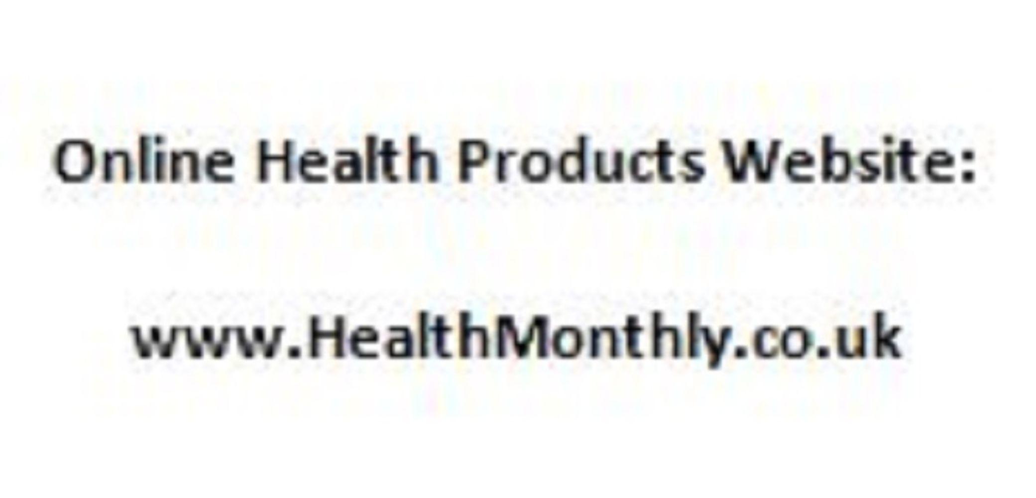 Online health products website and associated domain names