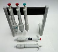 Various Thermo Scientific and stand