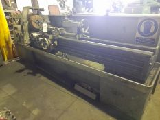 "Colchester Mascot 1600 gap bed lathe, Serial No: 7/0005/05243 with 84"" between centres, fitted 3 jaw"