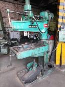 "Archdale WM 15 radial arm drill, Serial No: RD13948, 32"" x 18.3"" table size.(Please note: this lot"