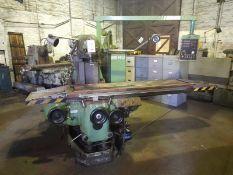 Huron Graffenstanden MU.6 universal milling machine, Serial No: 900709, table size 2000mm x 460mm