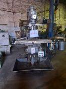 SEMCO LC-1½ VS turret milling machine, Serial No: 41221920 with Mitutoyo Liner Scale DRO, Allen