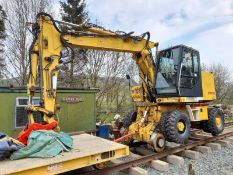 Case/ Rexquote Superailer 988-P-SP2 wheeled road/ rail 360° excavator, SWL: 10-tonne. Serial no.