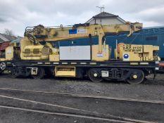 Plasser Thurer type GPC 12/6 12-tonne general purpose rail crane. Serial no.103-28 (1981) (Advised