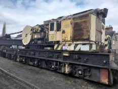 Cowans Sheldon 50-ton rail mounted crane on 3 bogies.Serial no. ADRC96718 (The record of thorough