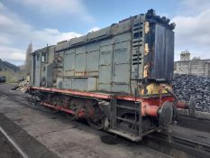 English Electric 350hp 0-6-0 diesel electric shunter (name: Davy) (Advised as runs but loses coolant