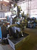 "SEMCO LC-1½ VS Turret Milling Machine, Serial No: 00226734 with 50"" and 90"" table, (No DRO),"