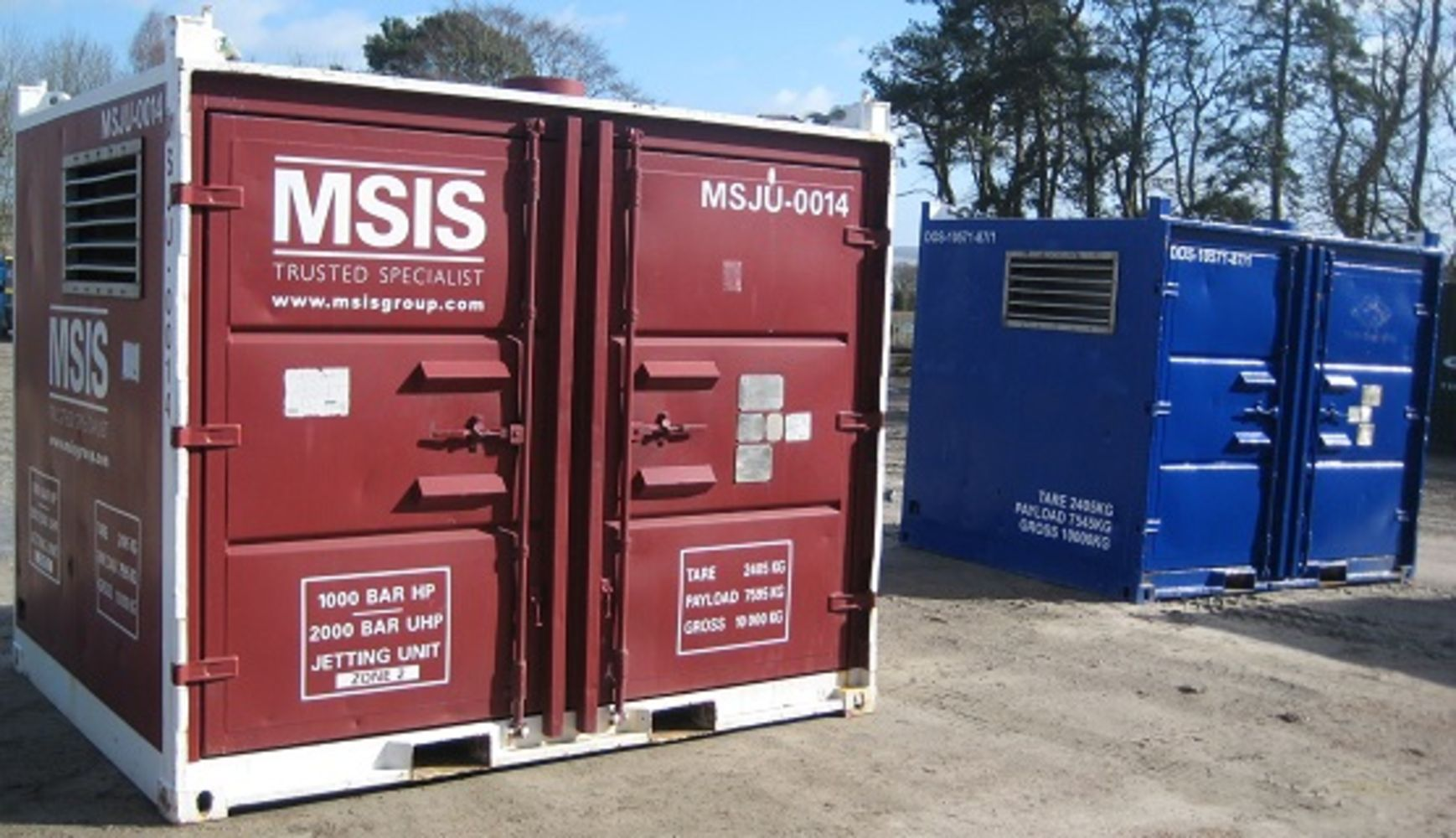 2 - Offshore Zone II HP/UHP Diesel Driven Water Jetting Units (Both 2006)