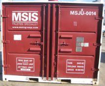 DOS-10571-90/1, MSJU-0014 (Red Unit). Hammelmann high pressure pump Serial No.