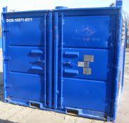 DOS-10571-87/1 (Blue Unit). Hammelmann high pressure pump Serial No.