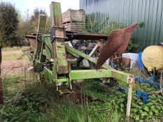 Dowdeswell Model 95 adapted bed splitter, s/n 145 - for spares or repair (Please Note: Purchaser